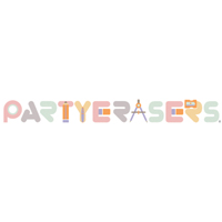 PartyErasers 3 in 1 - Crayon, Pastel and WaterColour 12 Colours Twistable Gel Wax Crayon in Tub