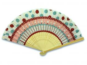 Shinzi Katoh Folding Fan - Usagi