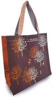 Shinzi Katoh Colour handle Tote Bag - mori