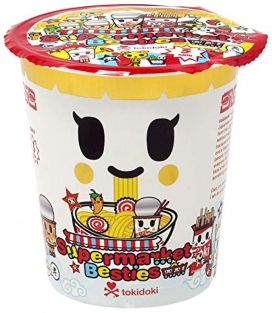 Tokidoki Supermarket Besties Blind Box Mini Figure (1 Figure)