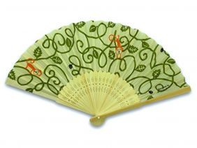 Shinzi Katoh Folding Fan - Saru