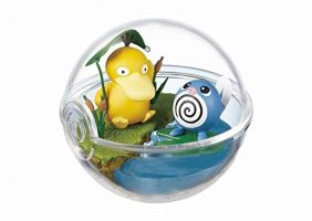 SA Pokemon Pokeball terrarium Collection Vol.2 Figure~054 Koduck Psyduck 060 Nyoromo Poliwag