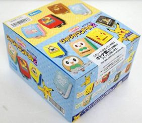 Re-ment Pokemon Pika Pika Randoseru2 Full Box 8 Complete Set