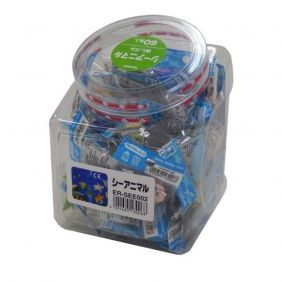 Iwako Sea Animal eraser 60 pieces SCERSEE002 Japanese stationery Office