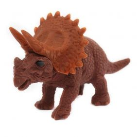 Iwako brown Triceratops Japanese Eraser from Japan