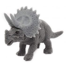 Iwako Grey Triceratops Japanese Eraser from Japan