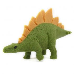 Iwako light green Stegosaurus Japanese Eraser from Japan