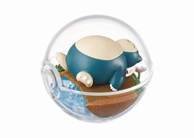 Re-ment Pokemon Pokeball terrarium Collection 1- 3 Kabigon Snorlax