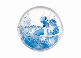 Re-ment Pokemon Pokeball terrarium Collection 1 - 5 Hakuryu Dragonair