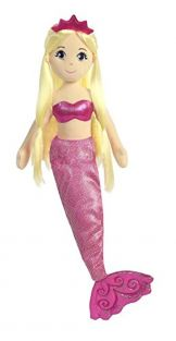 Aurora World 60698 Sea Shimmers Jewel the Mermaid Plush Toy (Medium)