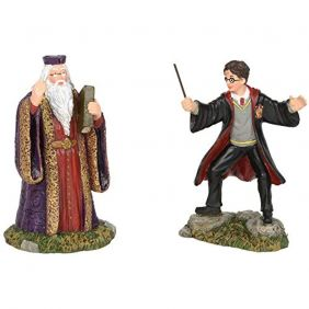 Harry Potter Village, Harry and the Headmaster Figurine, Multi-Colour