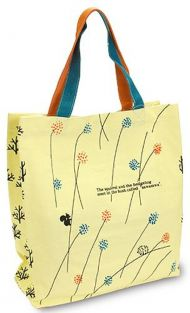 Shinzi Katoh Color handle Tote Bag - sawasawa