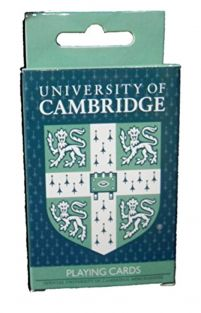 Cambridge University Playing Cards - Official Cambridge University Approved Product