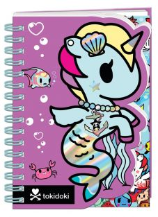 Tokidoki Mermicorno Die-Cut Notebook