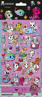Tokidoki Mermicorno Stickers