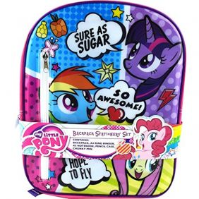 My Little Pony Comic Backpack Stationery Set