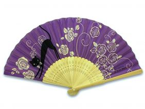 Shinzi Katoh Folding Fan - Baraneko