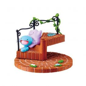 Re-Ment Pokémon Stairs 2 After the rain 3. Wooper & Ditto