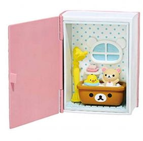 Re-Ment Rilakkuma Happy Little Book - Bathroom