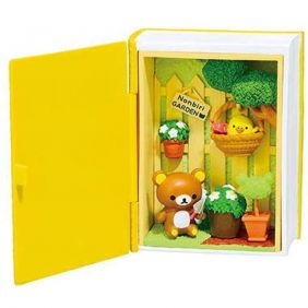 Re-Ment Rilakkuma Happy Little Book - Gardening