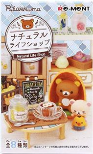 Re-Ment blind box of Rilakkuma Natural Life Shop
