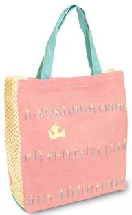Shinzi Katoh Colour handle Tote Bag - hanabatake