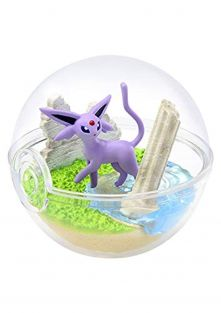 Re-Ment Pokemon Pokeball Terrarium Figure Collection Part 5~196 Eifie Espeon Psiana Mentali