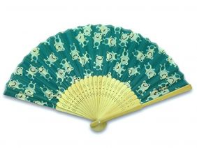 Shinzi Katoh Folding Fan - Kaeru
