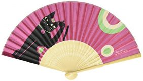 Shinzi Katoh Folding Fan - Maneki