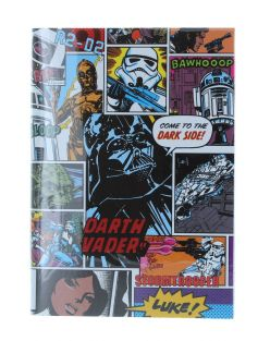 Star Wars Retro Comic A5 PVC Notebook