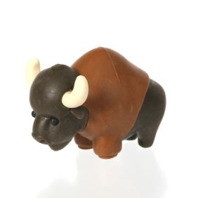 Iwako Animals: Buffalo
