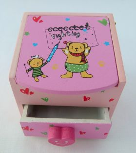 Buy One Get One Free: Jewelleries and accessories Keepsake Box (Fighting Bear)