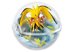 Re-Ment Pokemon Pokeball terrarium 3 Collection Gold Silver Figure~145 Thunder Zapdos Électhor
