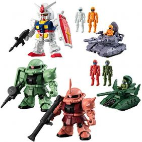 Bandai Mobile Suit Gundam Micro Wars 10 Pack Box = 10 sets