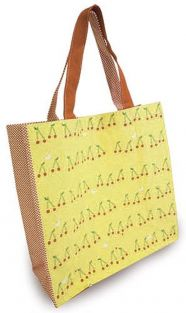 Shinzi Katoh Colour handle Tote Bag - sakuranbo