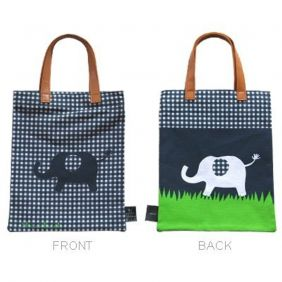 Shinzi Katoh Mini-Tote ipad B5 hand bag - Elephant