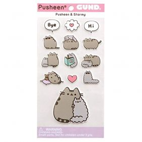 GUND Pusheen and Stormy Stickers
