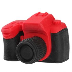 Iwako Toys: Camera Japanese Erasers (Red)