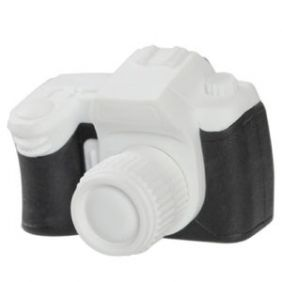 Iwako Toys: Camera Japanese Erasers (White)