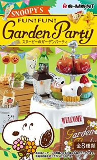 SNOOPY's Garden Party BOX item 1 BOX = 8 pieces, all 8 types