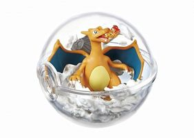 SA Pokemon Pokeball terrarium Collection Vol.2 Figure~006 Lizardon Glurak Charizard