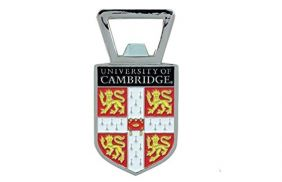 Cambridge University Shield Bottle Opener Magnet
