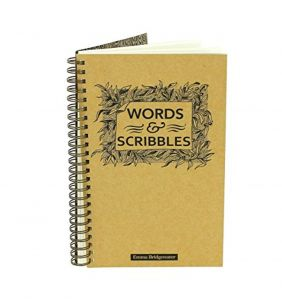 Emma Bridgewater Black Scroll Slim Notebook