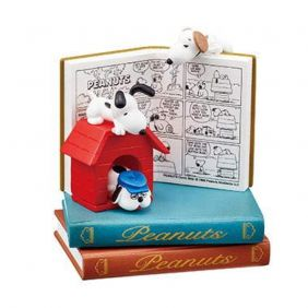 Re-Ment Snoopy NANO BOOK WORLD - Good Rest