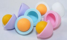 Dream by Themes: 4 Colours Egg & York Japanese Erasers
