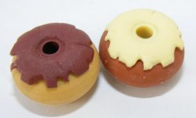 Dream A pair of Donut  Shape C Japanese Erasers