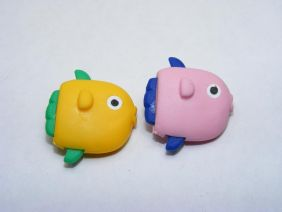 Dream a Pair of sunfish Japanese Erasers