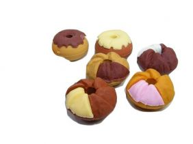 Dream 6 pieces mini Donut Cookies Japanese Erasers