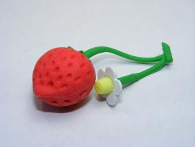 Dream strawberry flower Japanese Eraser