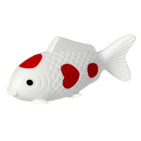 Iwako Sea Animals: Carp Fish (white)
